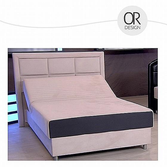 מודרני מיטה ברוחב וחצי עם מנגנון חשמלי כפול ומזרן קפיצים מבודדים כולל ראש DW-84